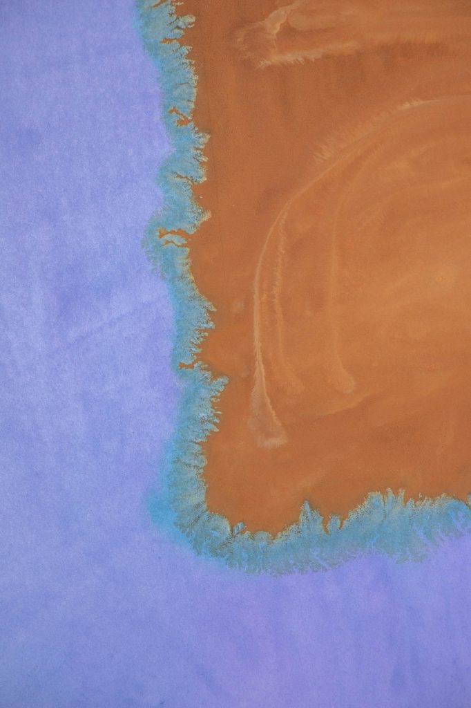 """Copper Cliff Runoff #3"", Detail."